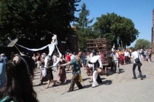 Desfile representación medieval