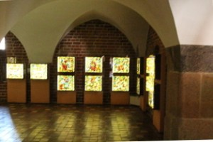 Sala restauración de crsitales