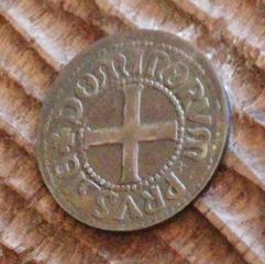 Otra moneda del museo de la ceca de Malbork