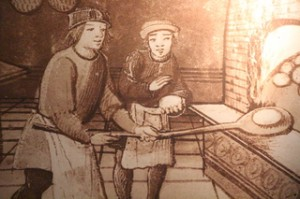 Ilustración ubicada en el museo
