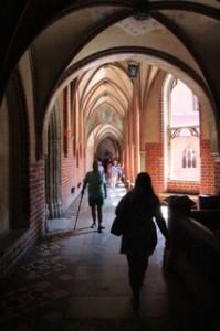 Pasillo gótico
