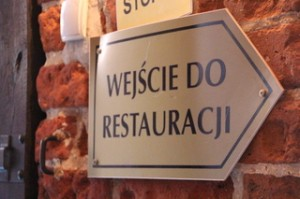 En las murallas el castillo está este restaurante