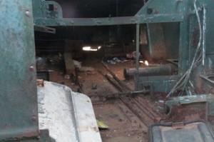 Dentro el tanque