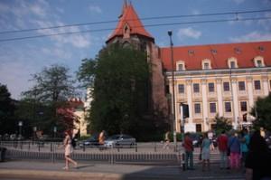 Instituto de Filología Polaca. A los polacos les gusta mucho la hiedra y odian los mosquitos. ¡Curiosa contradicción!