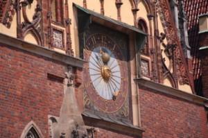 Famoso reloj del ayuntamiento