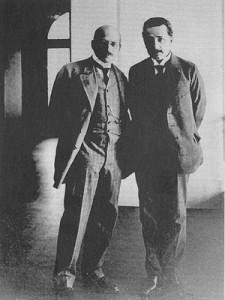 Haber y Einstein. Foto de Wikimedia