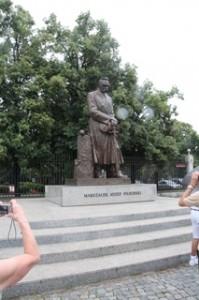 Monumento a Marszałek Józef-Piłsudski