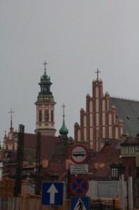 Vista de la ciudad antigua desde el aparcamiento de autobuses