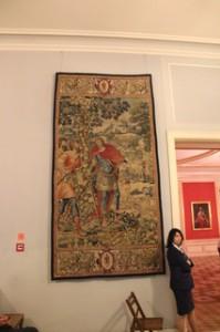 Tapices en el Palacio Real