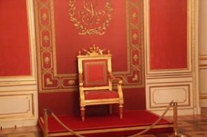 El trono