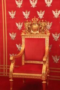 Detalle del trono