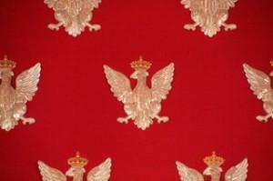 Detalle del águila polaca