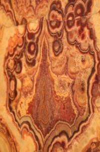 Detalle de una puerta de madera