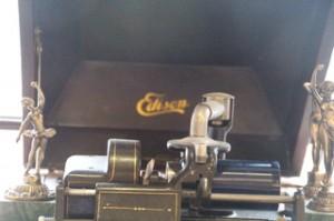 Gramófono de Edision