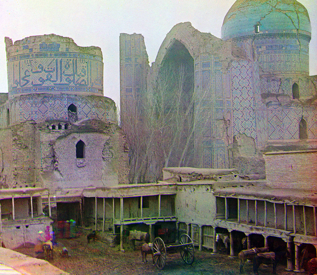 Bibi-Khanym Mosque (1905-1915)Public Domainview terms Sergey Prokudin-Gorsky - U.S. Library of Congress: http://hdl.loc.gov/loc.pnp/prokc.21835
