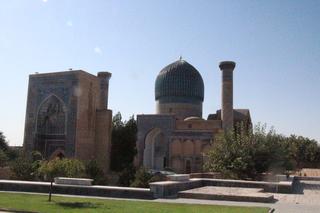 Gur-e Amir, mausoleo de Tamerlan en Samarcanda
