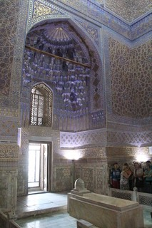 Sarcófago en el mausoleo de Emir Temir
