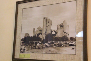 Así se veía la plaza de Registán