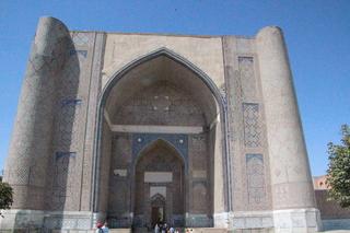 Puerta de entrada mezquita Bibi-Khanym