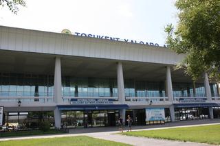 Aeropuerto de Tashken, capital de Uzbekistán