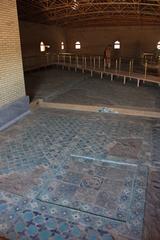 Ak.Saray. Restos de mosaicos