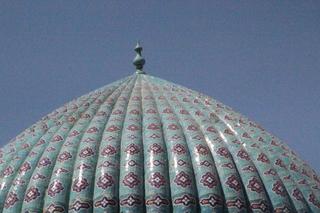 Mezquita Bibi Khanym vista desde el mercado