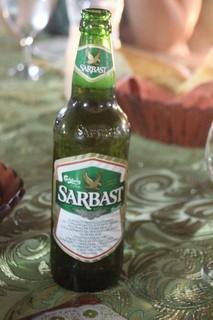 Cerveza uzbeka. Una lager de 8º, bastante buena