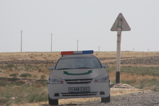 Otro falso coche de policia