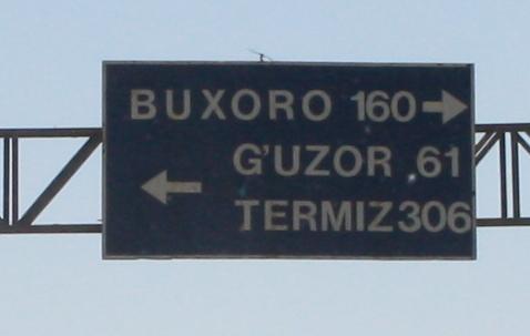 Buxoro, 160 km. Buxoro es Bujara