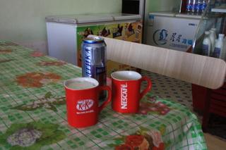 ¿Cerveza o café?