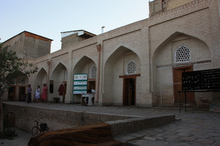 El caravanseray por dentro