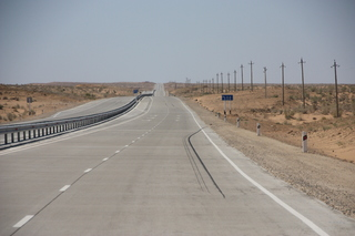 En este tramo la carretera ha mejorado mucho