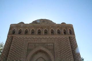 El mausoleo a contraluz