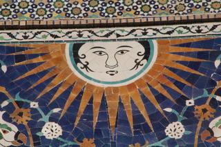 El sol en la madraza Nadir Divan-Beghi