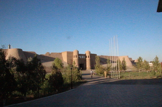 Vista de Jiva desde el hotel con objetivo de 50 mm