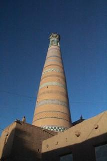 Minarete mezquita Zhuma