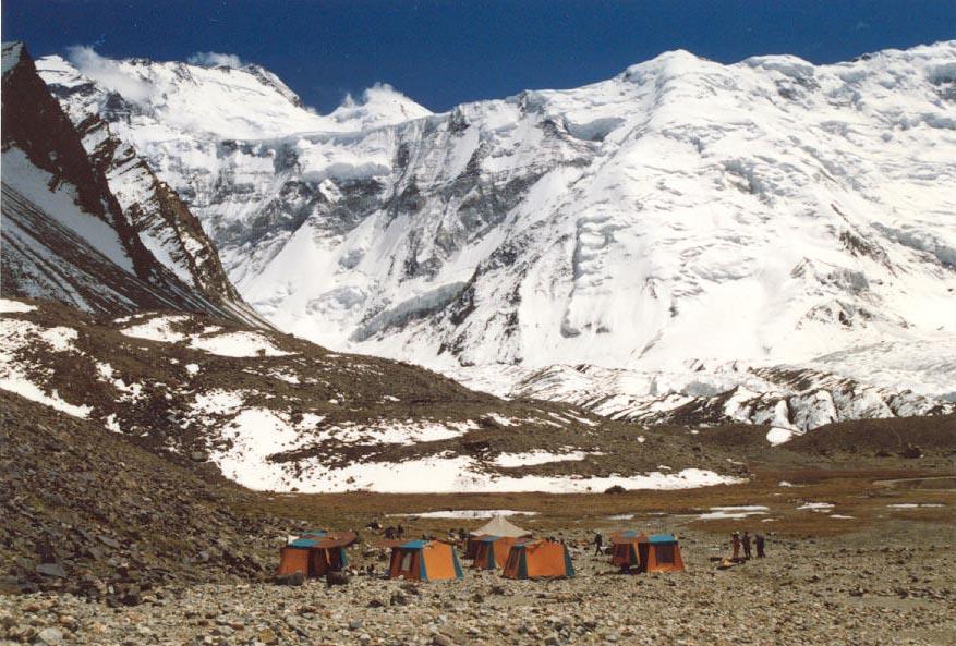 Pico Ismail Samani en la cordillera de Pamir