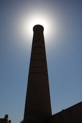 Minarete de la mezquita del viernes