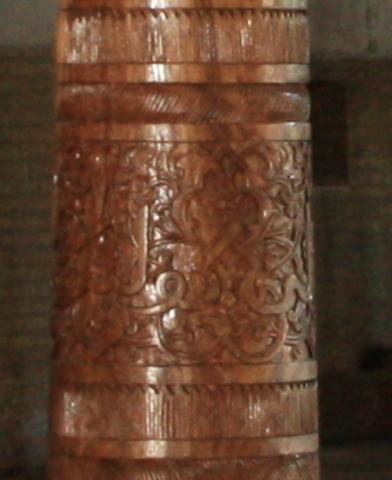 Detalle de una columna.