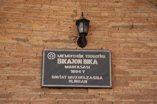 Madrza Bikajon Bika, de 1894