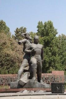 Monumento en memoria del terremoto de 1966
