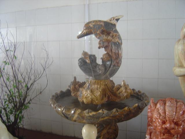 Una de ls esculturas a la venta