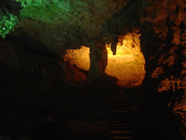 Otro aspecto de la cueva