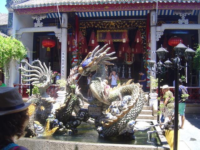 La fuente del dragón.