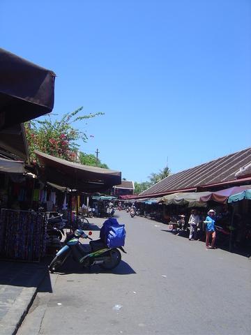 Alrededores del mercado.