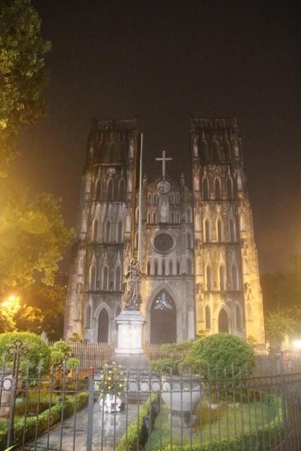 Catedral católioca de Hanoi