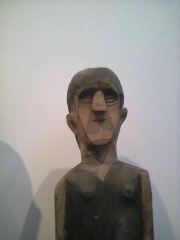 Figura de las tumbas de los Jorai.
