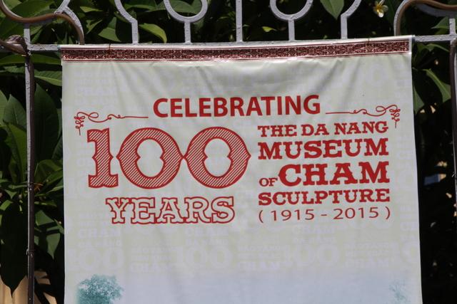 En el museo Cham se celebra el centésimo aniversario.
