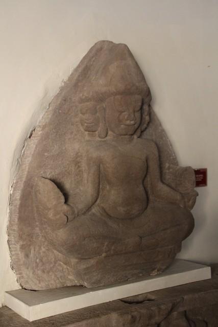 El dios Brahma.