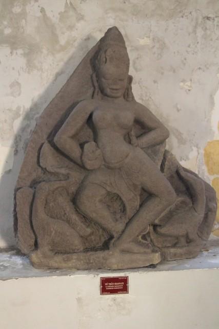 La diosa Sarasvati.